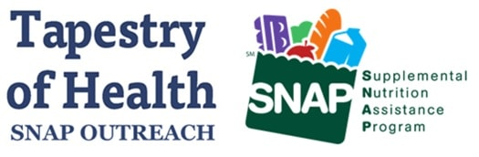 Tapestry of Health SNAP Wic logo